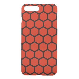 Crimson Hexagon 4 iPhone 7 Plus Case