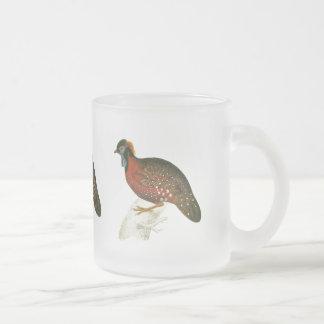 Crimson Horned Pheasant Mugs