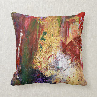 Crimson Indulgence - pliilow Throw Cushion