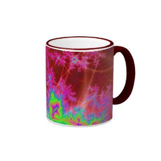 Crimson Lakes Ringer Mug