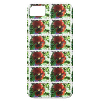 Crimson Pansy Case For The iPhone 5