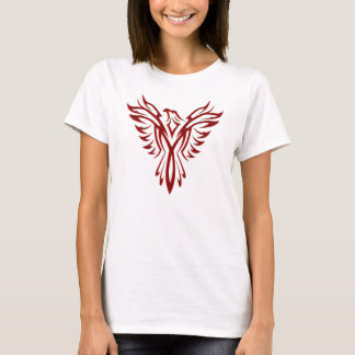 Crimson Phoenix Rising T-Shirt