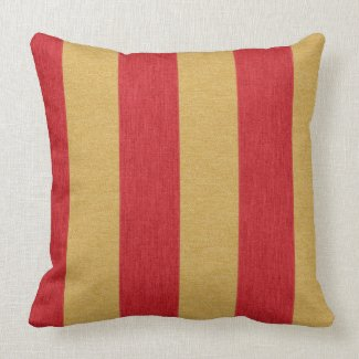 Crimson red and gold stripes
