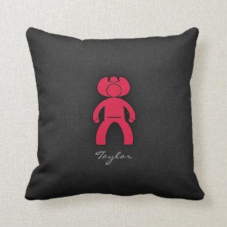 Crimson Red Cowboy Cushion