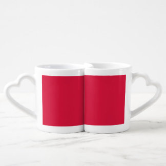 Crimson Red Lovers Mug