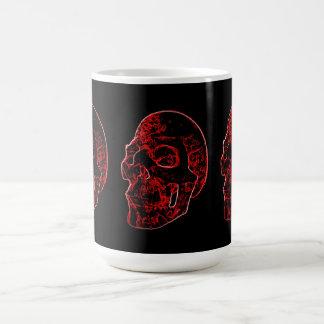 Crimson Skull Mug