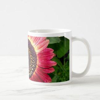 Crimson Sunflower Coffee Mug