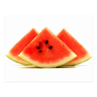 Crimson sweet watermelon postcard