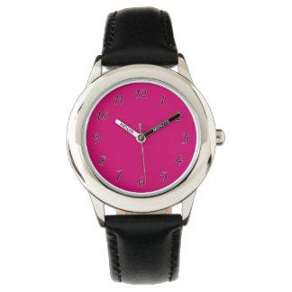 Crimson Template Wrist Watch