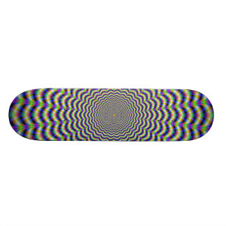 Crinkle Cut Circles Skateboard