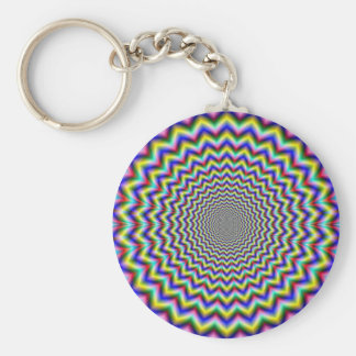 Crinkle Cut Psychedelia Keychain
