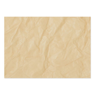 Crinkle Paper Background Business Card Templates