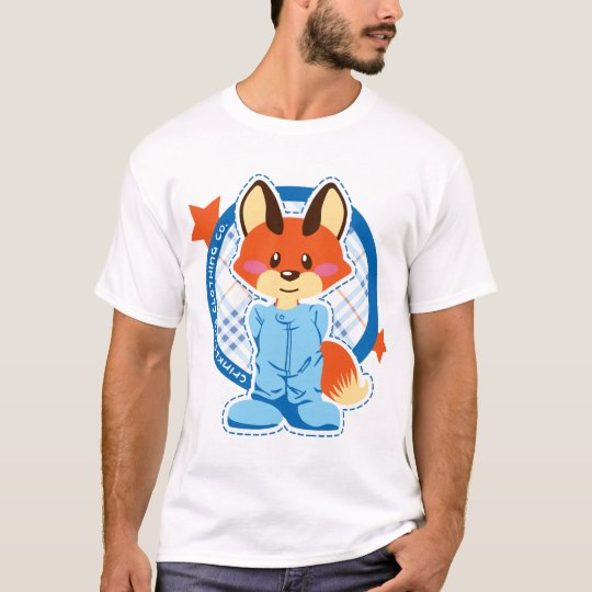 CrinkleCub Fox T-Shirt