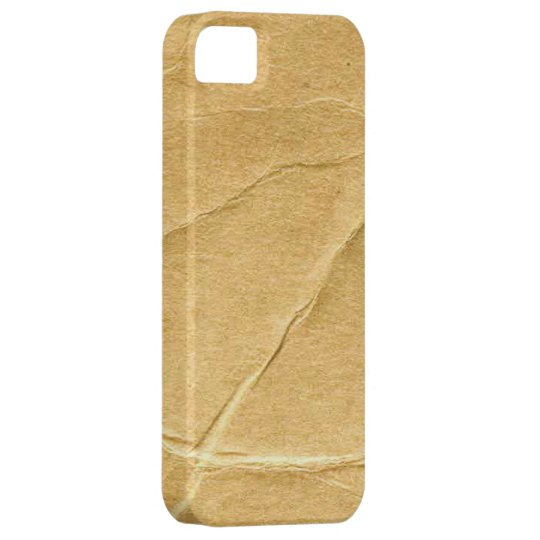 Crinkled Cardboard iPhone 5 Cover