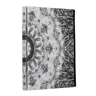 Crinkled Foil Kaleidoscope iPad Folio Case