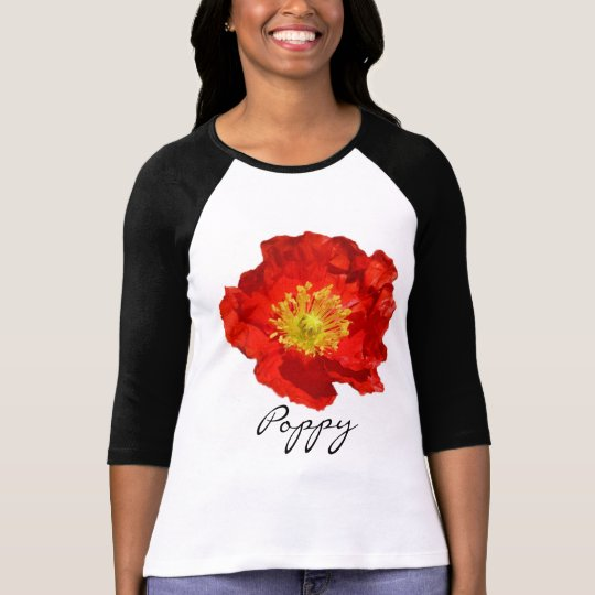 Crinkled Red Poppy T-Shirt