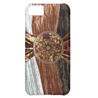Crinkled Velour Snake Skin & Jeweled IPhone4 Case iPhone 5C Cover