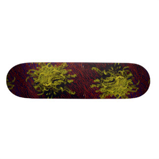 Crinoid crawling to the top of a sea fan skateboard