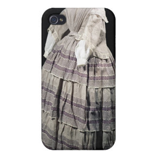 Crinoline dress, 1850-60 cover for iPhone 4