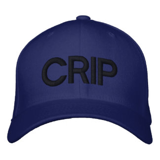 CRIP HAT EMBROIDERED HATS