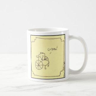 cripple basic white mug