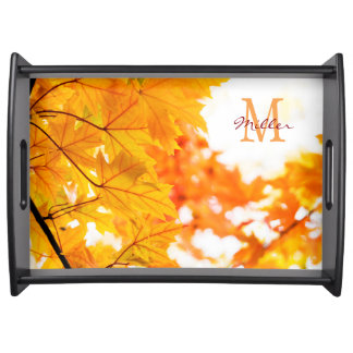 Crisp Autumn Day Serving Tray