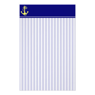 Crisp l Anchor Stationery with Letterhead