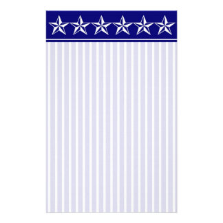 Crisp l Star Stationery with Letterhead