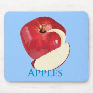 Crisp Red Apple Mouse Mat
