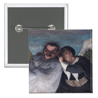 Crispin and Scapin 15 Cm Square Badge