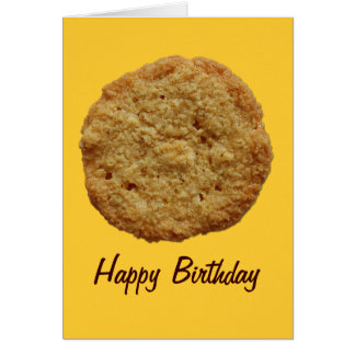 Crispy Baked Cookie Party Event Birthday Card
