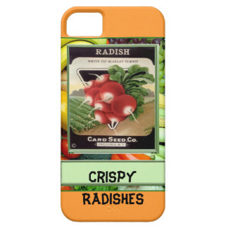 Crispy Radishes iPhone 5 Cover