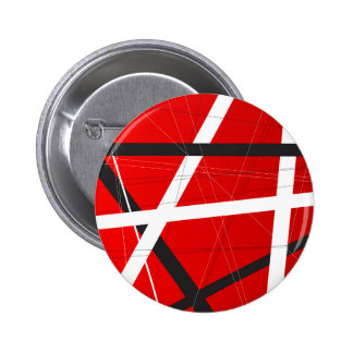 Criss Cross Background 6 Cm Round Badge