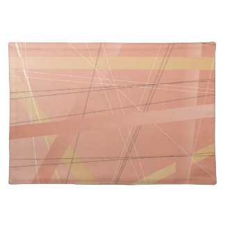 Criss Cross Background Place Mat