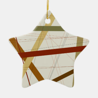 Criss Cross Christmas Ornament