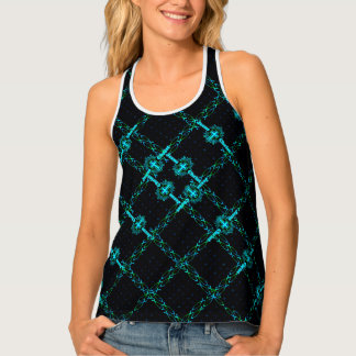 Crisscrossing Jesus Fish Tank Top