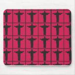 Crist pink sky mousemats