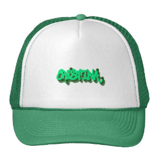 Cristina Graffiti Trucker Hat Cap