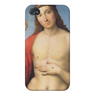 cristo benedicente by Raffaello Sanzio da Urbino Case For iPhone 4