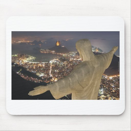 Cristo Redentor Mouse Pad