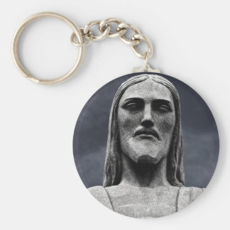 Cristo Redentor Statue Key Ring