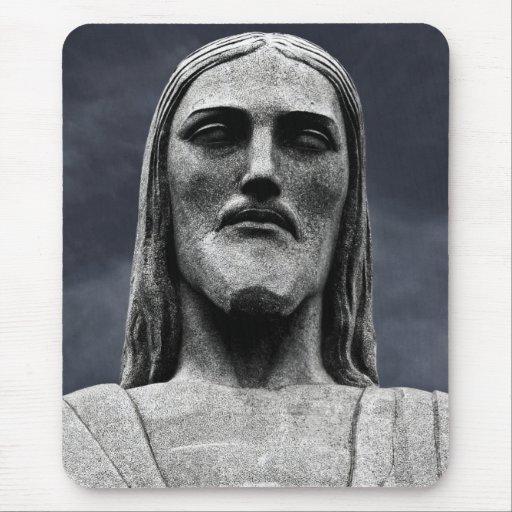 Cristo Redentor statue on Corcovado mountain Mouse Pad