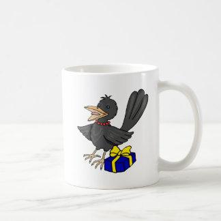 Cristy Crow Classic White Coffee Mug