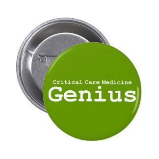 Critical Care Medicine Genius Gifts 6 Cm Round Badge
