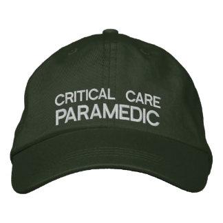 Critical Care Paramedic Flexfit Cap Green
