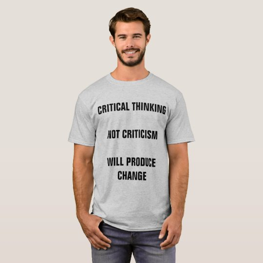 Critical Thinking T-Shirt