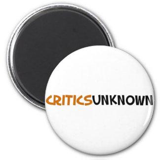 Critics Unknown Merchandise 6 Cm Round Magnet