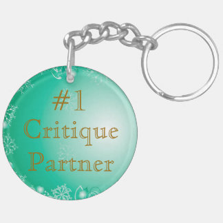 Critique Partner Keychain