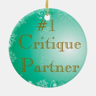 Critique Partner Ornament