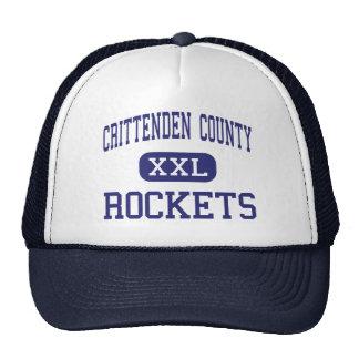 Crittenden County - Rockets - High - Marion Cap